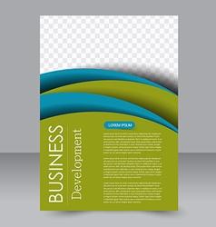 Brochure template Business flyer Editable A4 vector image
