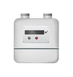 gas meter vector image