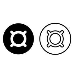 generic currency symbol symbol icon vector image