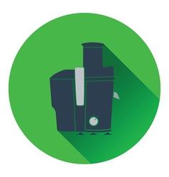 Juicer machine icon vector image