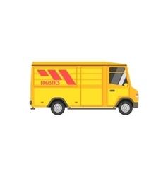 Small Cargo Bus vector image