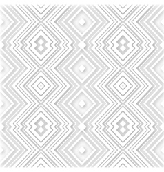 white abstract retro zigzag background vector image
