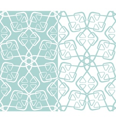snowflakes seamless texture 01 vector image vector image