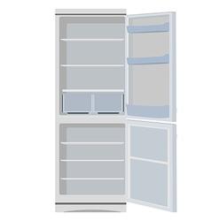 Fridge or refrigerator vector image