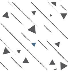 seamless pattern of monochrome geometric vector image