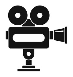 cinema camera icon simple style vector image