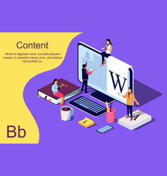 Isometric concept education vector