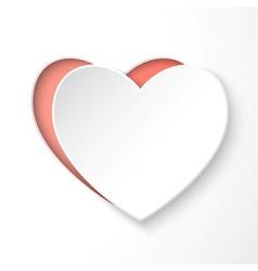 Paper 3d heart vector