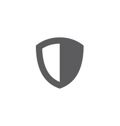 shield design vector image