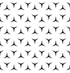 Simple repeat geometric texture black and white vector