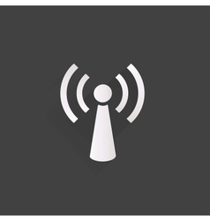 Wireless web icon vector
