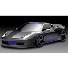 Sport car 1 of 3 vector