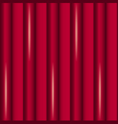abstract background of red curtains vector image