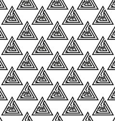 Background with geometric patterns vector image