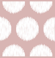 Boho polka dot nude seamless pattern vector