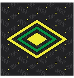 Brazil abstract background vector