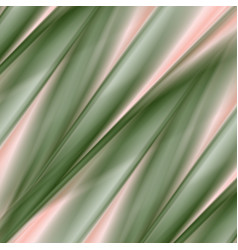 green and pink smooth stripes abstract background vector image