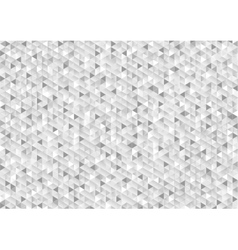 Grey glitter triangles mosaic technical background vector image