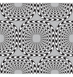 Optical Seamless Pattern Background Squares Moves vector image