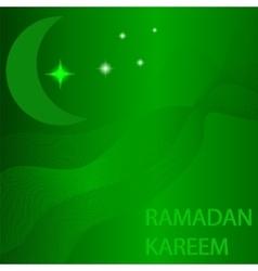 Ramadan card vector