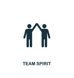 team spirit icon premium style design from vector image