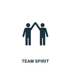 Team spirit icon premium style design from vector