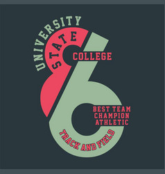 university state college best vector image