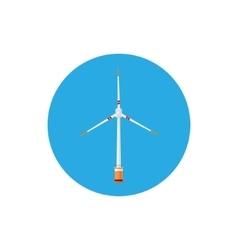 Wind Turbine Icon vector