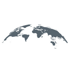 world map globe earth background vector image