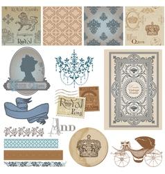 Design Elements - Vintage Royalty Set vector image