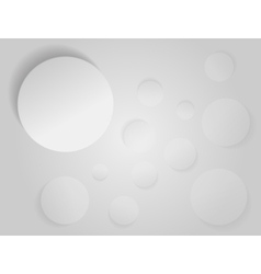 Abstract white paper vector image