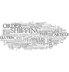 A shopper thrives on line text word cloud concept vector