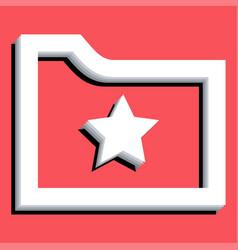Bookmark vector
