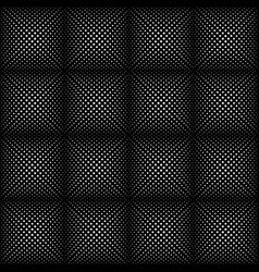 dotted line geometric seamless pattern vector image