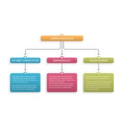 Flow chart vector