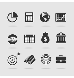 Items banker vector