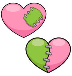 Monster hearts vector