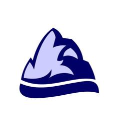 rock mountain logo icon vector image