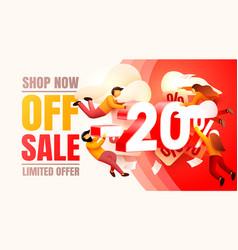 Shop now off sale 20 interest discount limited vector