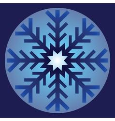 Snowflake Ornament vector image