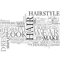 Wear it up or wear it down text word cloud concept vector