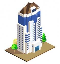 building vector image vector image