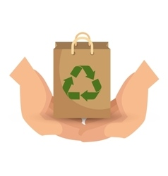Arrows recycle ecology icon vector