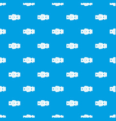 Black metal belt buckle pattern seamless blue vector
