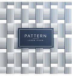 Horizontal and vertical lines pattern background vector