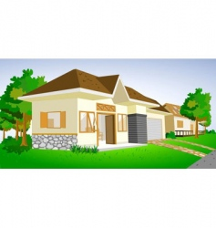 House view vector