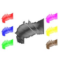 Meta department map vector