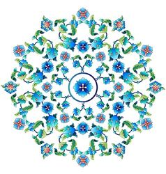 Ottoman motifs design series sixty one vector image