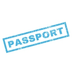 Passport Rubber Stamp vector