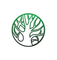 save nature logo icon vector image